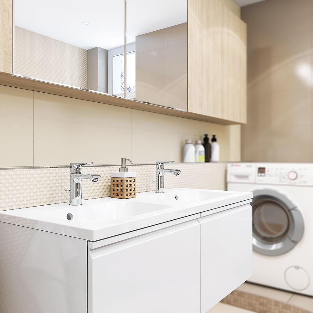 Premena chaotickej a hranatej kúpeľne na vzdušnejší a príjemnejší priestor