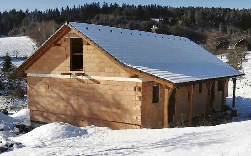 Rodinný dom z tehly s tepelnou stratou do 2 kW!