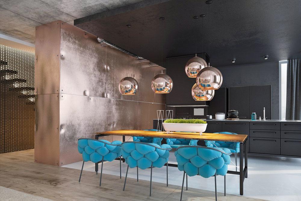 Meď sa v interiéri objavuje už dávno a v posledných rokoch slávi veľkolepý návrat. Ak sa s týmto materiálom celkom nestotožňujete, nič to. Skúste do domácnosti zakomponovať aspoň medený odtieň. V interiéri meď najčastejšie vídať na svietidlách a kuchynských doplnkoch, ale objavuje sa aj na väčších solitéroch. Hodí sa do moderného aj rustikálneho interiéru. Jej univerzálny charakter z nej robí bezkonkurenčný materiál, nehovoriac o jej odolnosti.
