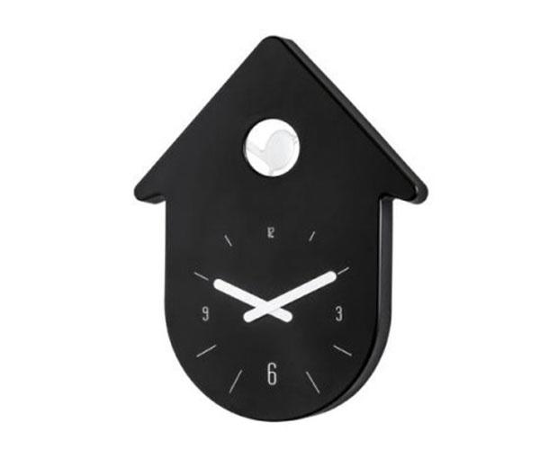 Čierno-biele kukučkové TOC TOC od značky KOZIOL, 24 × 2,7 × 30,5 cm, 56,95 €, www.dizajnove-doplnky.sk