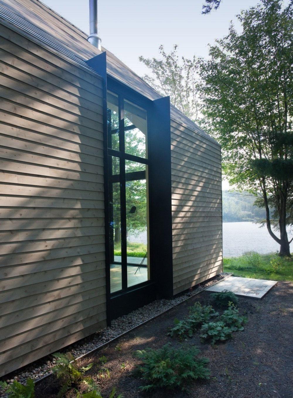Pokojné bývanie na brehu jazera