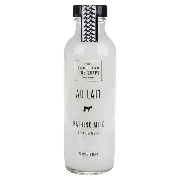 Mlieko do kúpeľa Au Lait The Scottish Fine Soaps, objem 220 ml, 8,95 €, www.zoot.sk