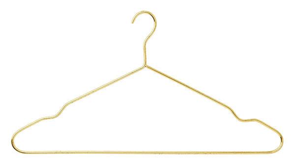 Kovový vešiak na šaty Gold, dĺžka 42 cm, výška 20 cm, 10,71 €, www.nordicday.sk