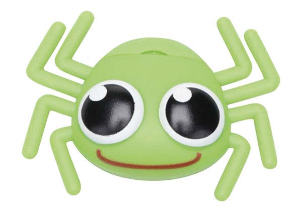 Zelený zásobník na dentálnu niť Kikkerland Pavúk, 2,35 €, www.zoot.sk