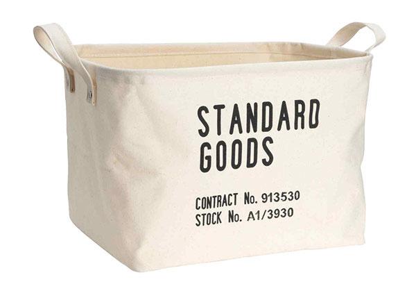 Odkladací kôš zrobustnej bavlny, viac farieb, 9,99 €, H&M Home