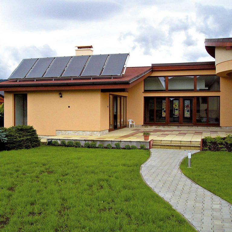 Využitie slnečnej energie na ohrev vody v bazéne