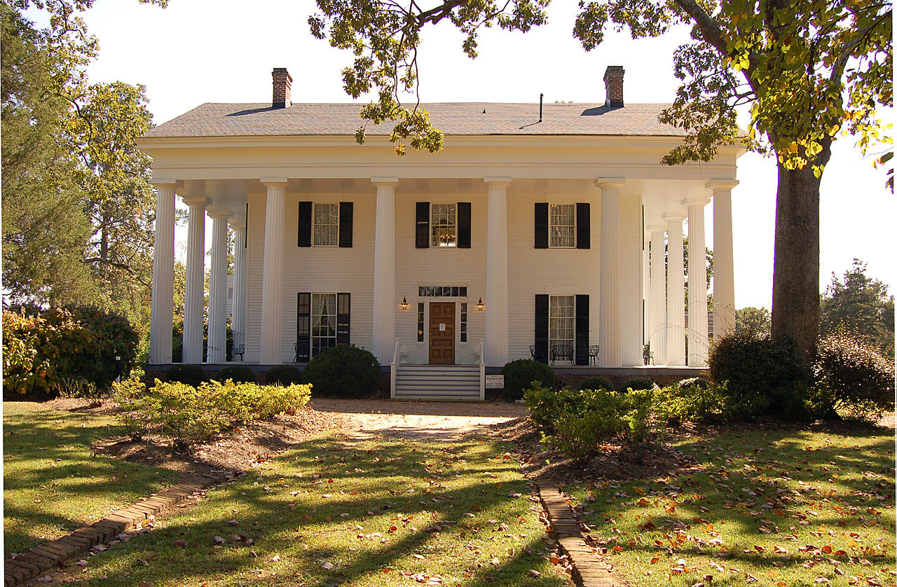 Barrington Hall Georgia 1839