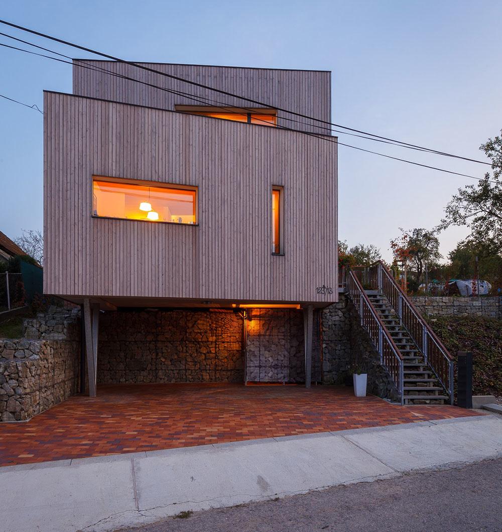 Pasívny dom, Žilinská Lehota, autor: Marián Prejsa, Bjørn Kierulf, Createrra, dodávateľ: DetailDom, foto: Milan Hutera