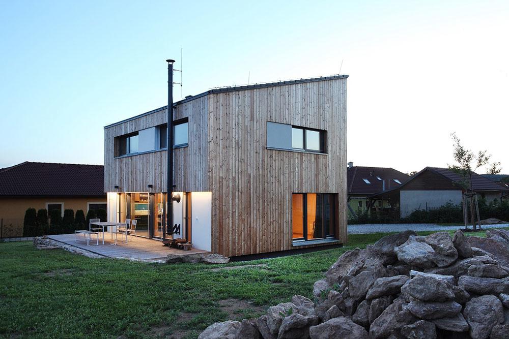 Futura Neo – Domesi Concept House, vzorový pasívny drevodom, Budíkov, autori: AK Prodesi , dodávateľ/prevádzka: Domesi