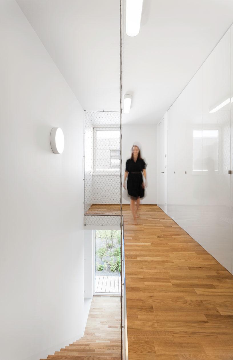 Interiér rodinného domu v Prahe