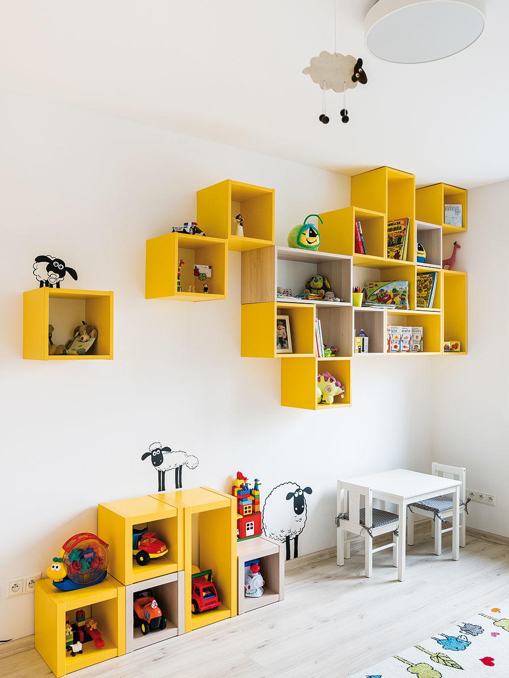 Správna miera. Aký je ideálny nábytok do detskej izby? Funkčný azároveň estetický, so správnou mierou hravosti, ktorá podnecuje fantáziu, ale zbytočne nezahlcuje podnetmi.