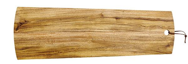 Doska na krájanie od značky Ladelle, agátové drevo, 20 × 60 cm, cena na vyžiadanie, www.bonami.sk