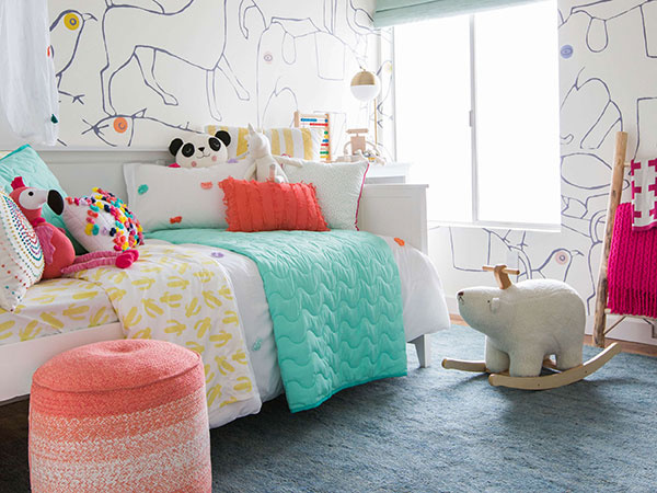 Detská izba v štýle hygge