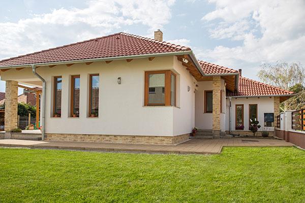 Dom z tehly je stále moderný a trendy
