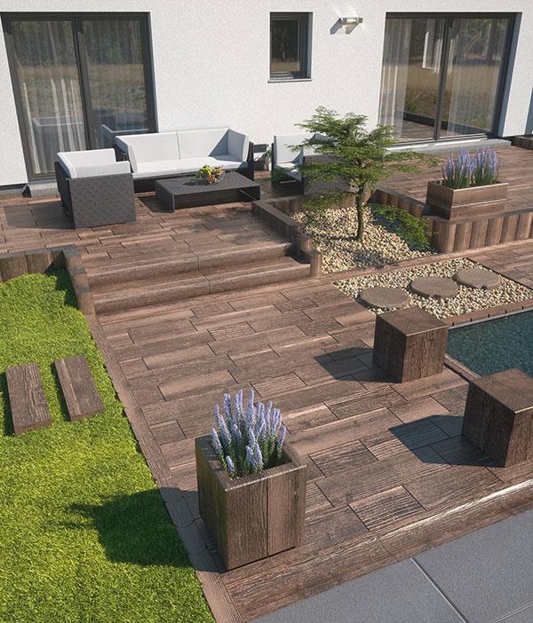 Záhrada v jednotnom štýle – systém BARK