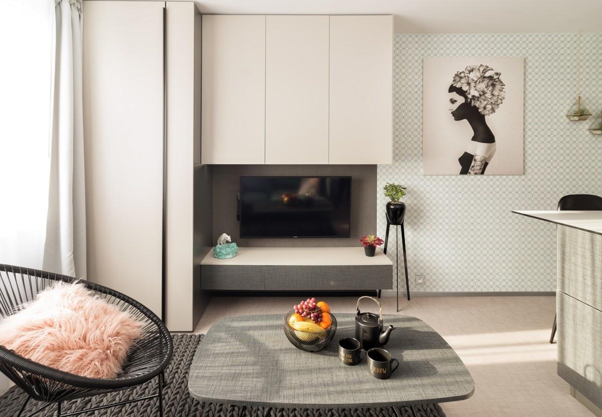 Zmenšenie panelákového bytu 1 + 1 na garsónku