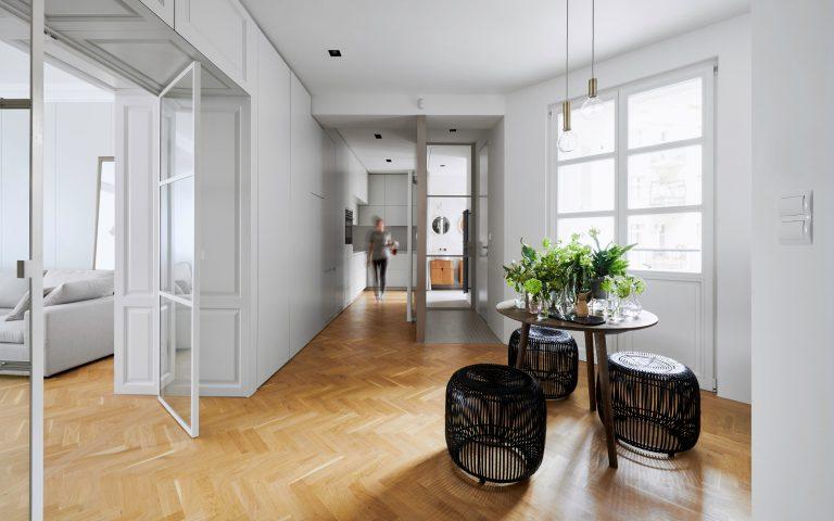 Súťaž Interiér roku: Rekonštrukcia bytu v Starom Meste s prvkami škandinávskeho dizajnu