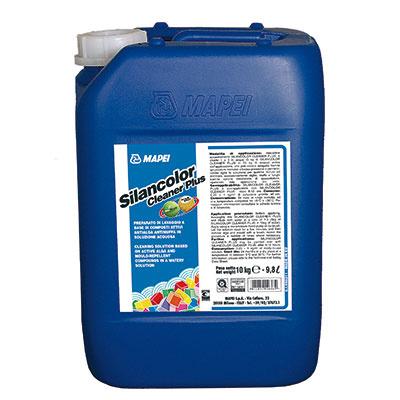 Silancolor® Cleaner Plus  Čistiaci prípravok vo vodnom roztoku určený na čistenie povrchov napadnutých plesňami a riasami. Zabezpečuje hĺbkové odstránenie prítomných plesňových spór a hýf.