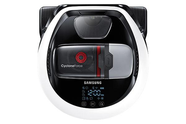 Robotický vysávač Samsung POWERbot VR7000M bol navrhnutý stenším telom, vďaka ktorému mu nerobí problém dostať sa pod akúkoľvek pohovku či nábytok bez toho, aby bol ohrozený jeho nasávací výkon. Pri vysávaní prachu anečistôt dokáže pracovať až s20-krát vyššou nasávacou silou než predchádzajúce modely, atým sa zároveň radí medzi najvýkonnejšie robotické vysávače na trhu. Má viacero praktických technológií, ako napríklad systém Visionary Mapping™ Plus, ktorý dokáže nájsť optimálnu dráhu vysávania, alebo technológiu Edge Clean Master, ktorá sa postará očisté okraje stien arohy. Odporúčaná predajná cena modelu VR10M702CUW 599 €. www.samsung.sk