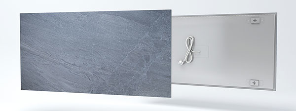 Nové sálavé panely zo skla a keramiky lákajú na vzhľad a tepelný komfort