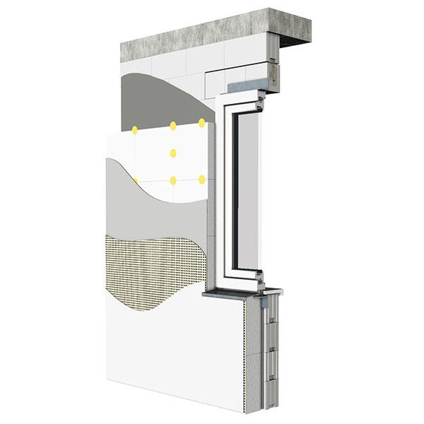 Viacvrstvové murivo KMB Sendwix umožňuje dosiahnuť parametre ultranízkoenergetickej aj pasívnej výstavby. Nosnú konštrukciu obvodového plášťa tvorí murivo z vápenno-pieskových tehál, ktoré sa z vonkajšej strany zateplí. Tri typy certifikovaného systému sa líšia použitým izolantom (minerálna vlna alebo fasádny polystyrén) a vzhľadom fasády (lícová prímurovka alebo ušľachtilá omietka).