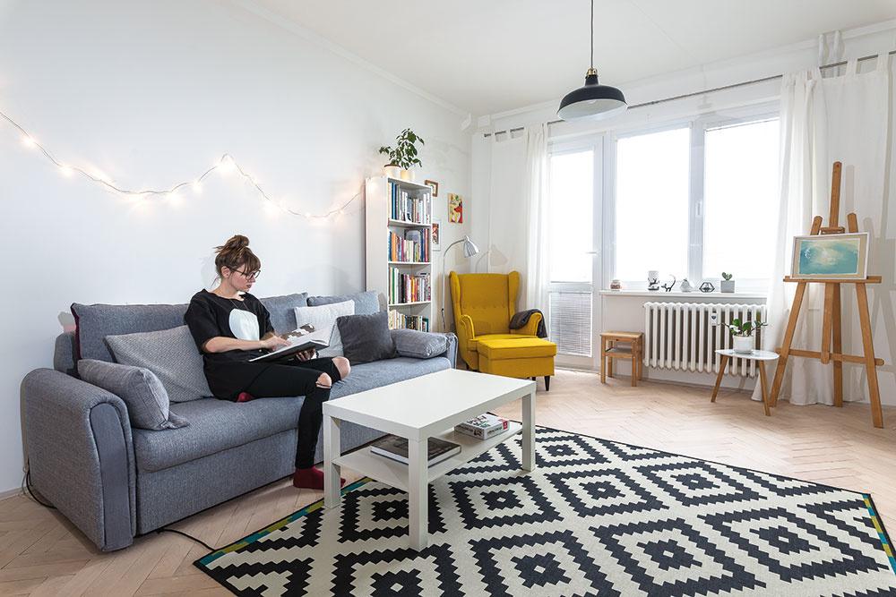Bratislavský byt s umeleckou dušou: Miesto, kde vznikajú krásne diela