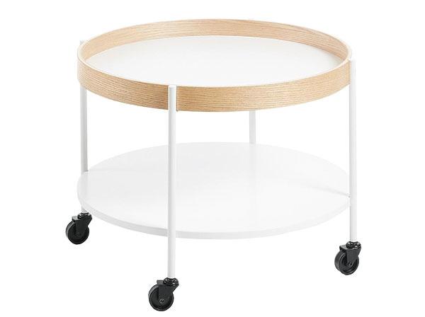 Sodkladacím priestorom Aldan od značky La Forma, 61× 45×61cm, drevo, kov, melanín, 116,10 €, www.designwohnen.de