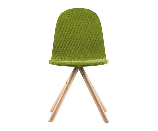 Stolička Mannequin 01 Natural Green, šírka 40 cm, dĺžka 43 cm, výška 79 cm, 107 €, www.westwing.sk