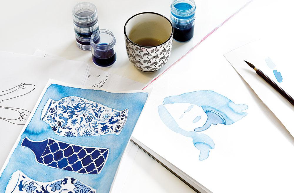 MAĽOVANIE PRERÁSTLO DO VÁŠNE. Viac ako päť rokov sa Jackie učila maľovať olejovými farbami, ale vsúčasnosti pracuje skôr sakvarelmi. Otom, že by sa mohla stať ilustrátorkou, začala uvažovať vo chvíli, keď začala zbierať výstrižky aobrázky zčasopisov akníh pre deti. Jej tvorbu môžete sledovať aj na Instagrame: @jackieillustrated