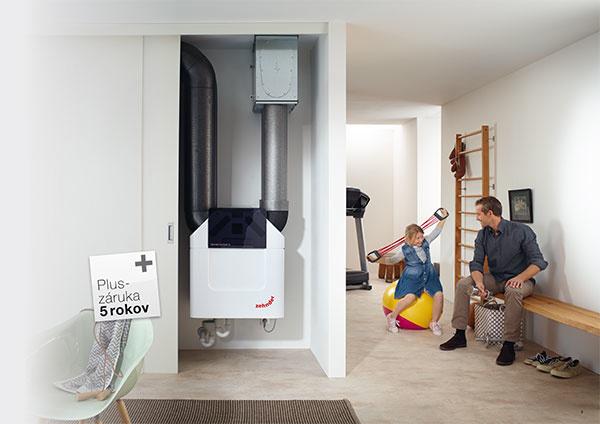 Prečo si vybrať komfortné vetranie s rekuperáciou? Švajčiarsky výrobca poskytuje predĺženú 5-ročnú záruku