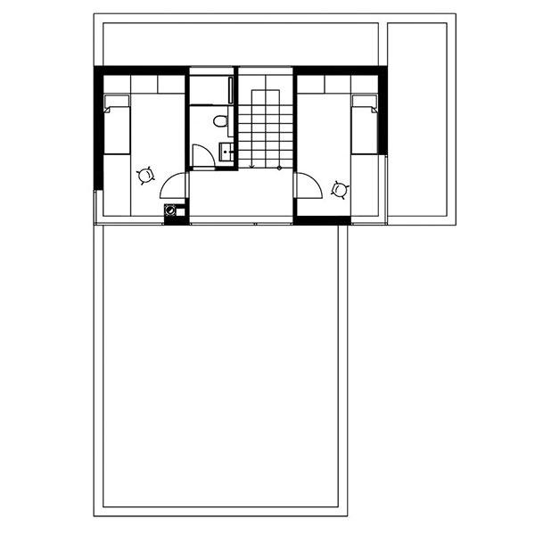 Projekt poschodového rodinného domu 1707