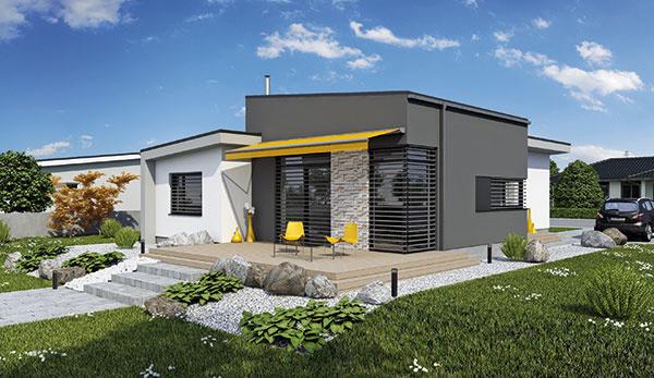Projekt prízemného rodinného domu LAGUNA435