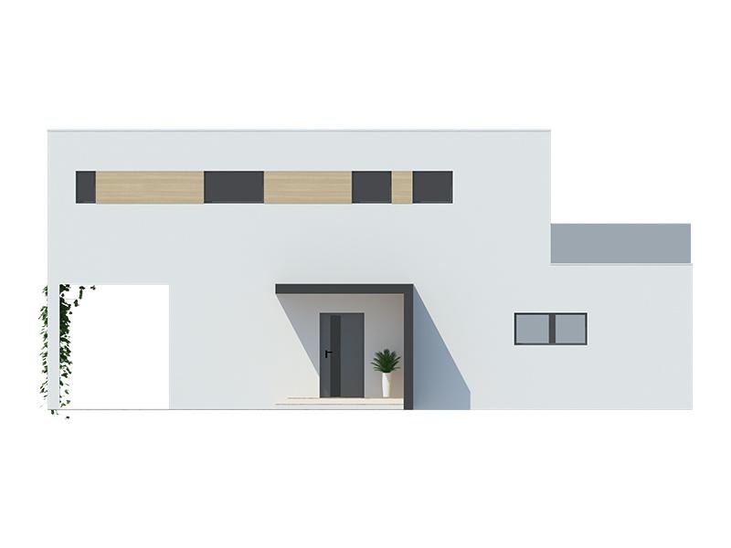 Projekt rodinného domu Dominik 37
