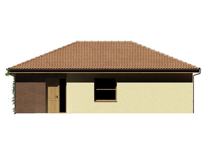 Projekt rodinného domu Kristína 35