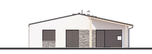 Projekt prízemného rodinného domu Celesta