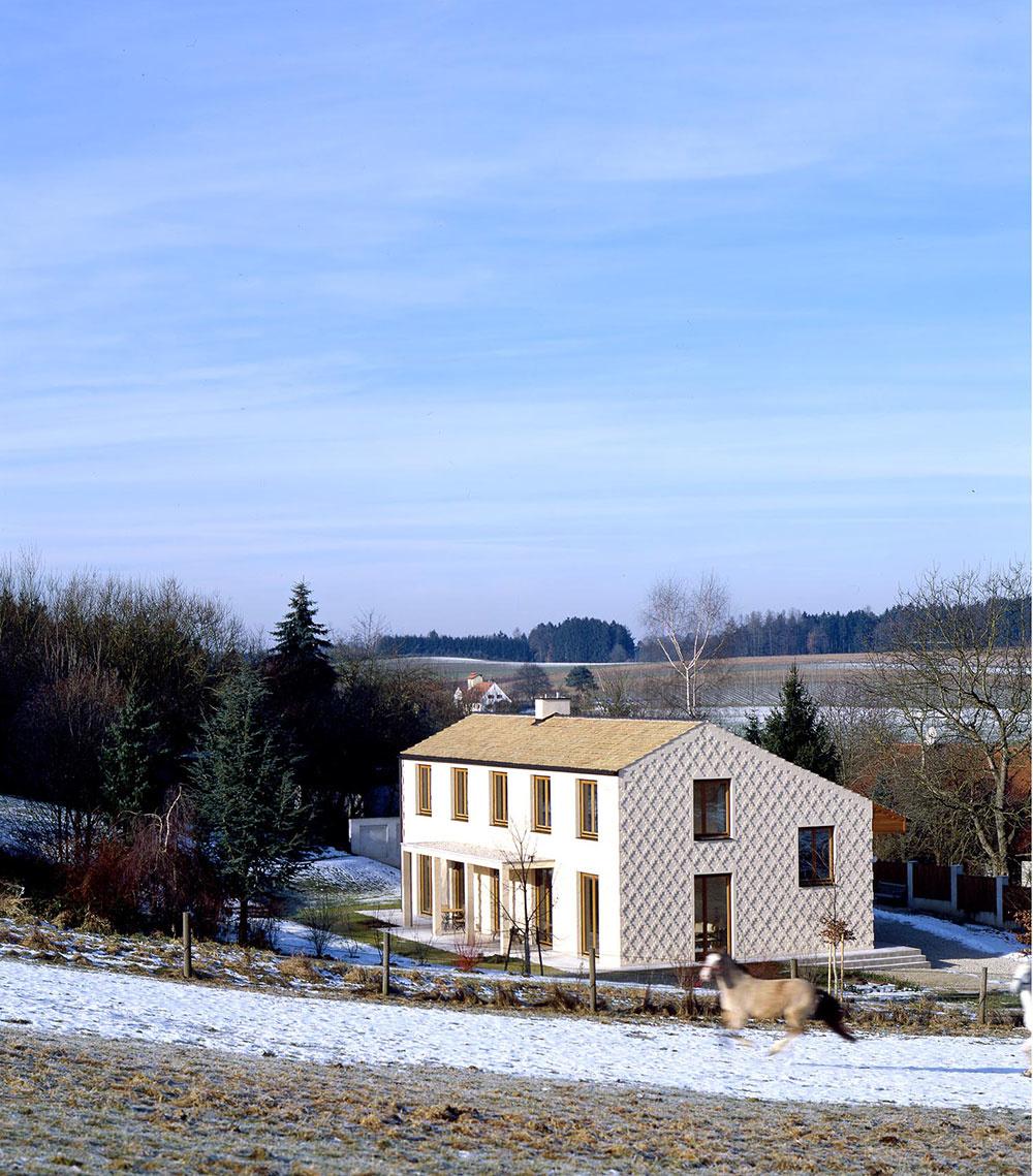 Rodinný dom s fasádou, akú ste ešte nevideli!