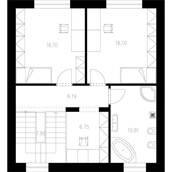poschodie:63,95 m2