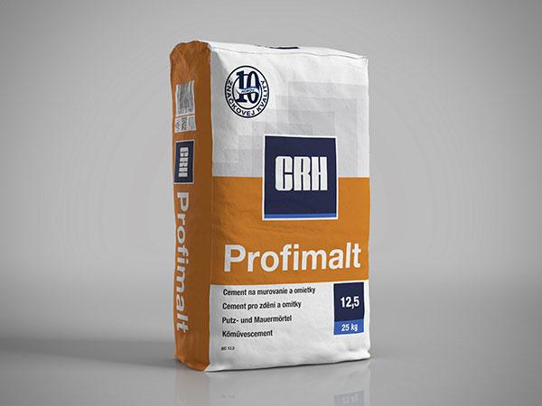 CRH Profimalt pre jednoduché murovanie a omietanie