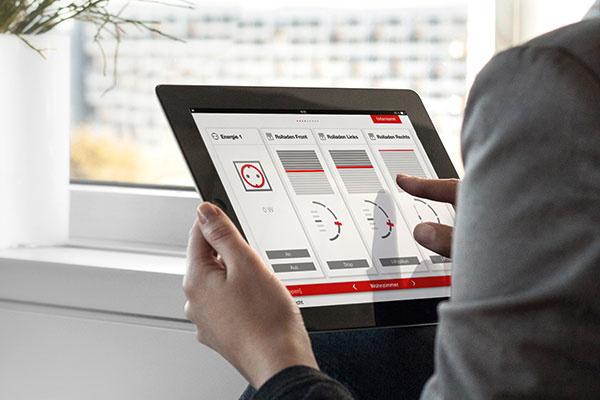 Jednoduché ovládanie aplikácie Smartwindow cez tablet alebo smartphon