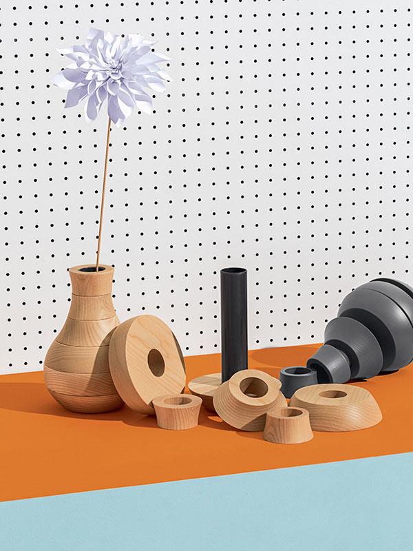 Drevené vázy TOY