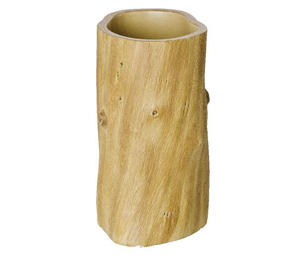 V tvare kmeňa od značky Wenko, polyresin, 6,3 × 11,2 × 8,3 cm, 10,49 €, www.bonami.sk