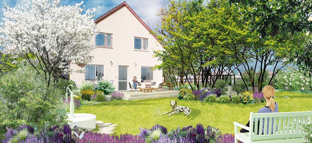 Ako si vytvoriť praktickú vidiecku záhradu s ovocným sadom a miestami na oddych