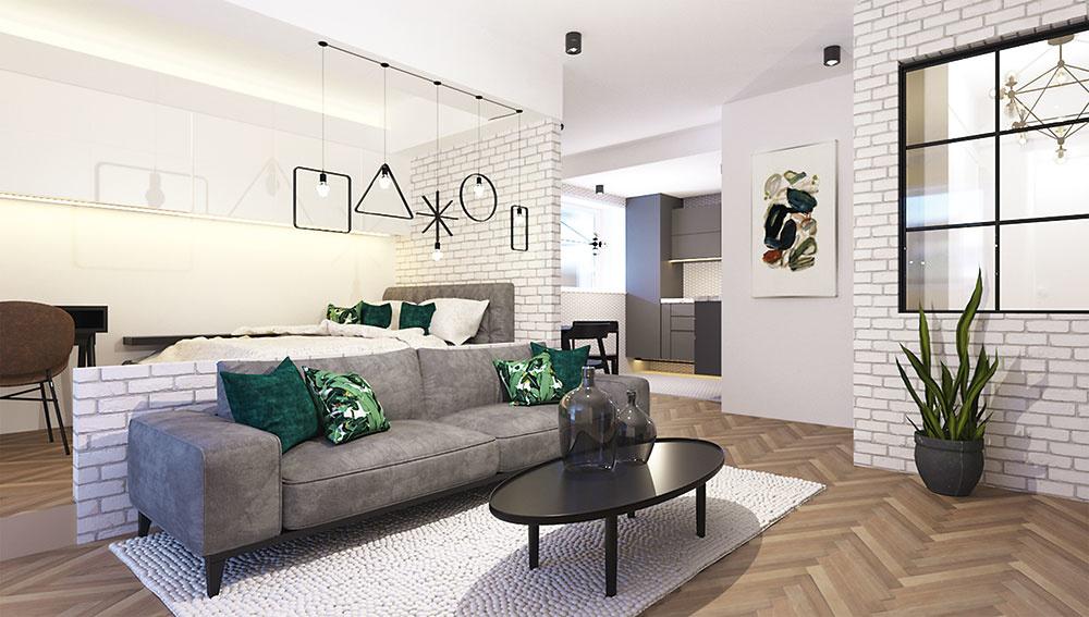 Návrh na rozšírenie dvojizbového bytu pre manželov s dieťaťom