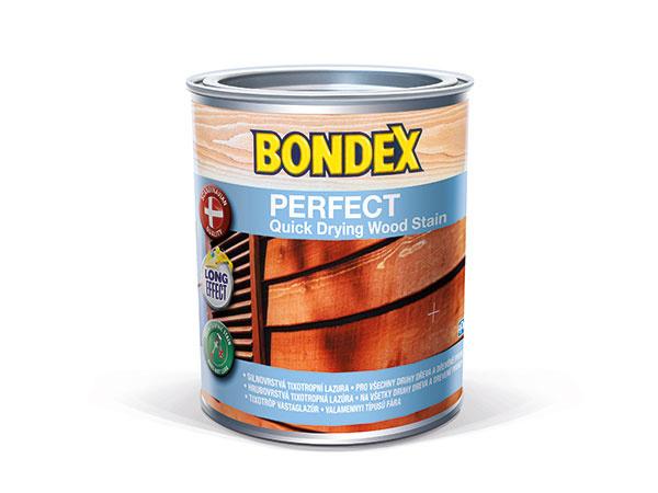 NOVINKA BONDEX PERFECT – lazúra na drevo, ktorá nesteká