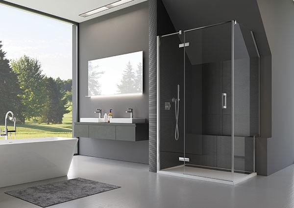 Sprchové kúty a zásteny SanSwiss – radosť zo sprchovania