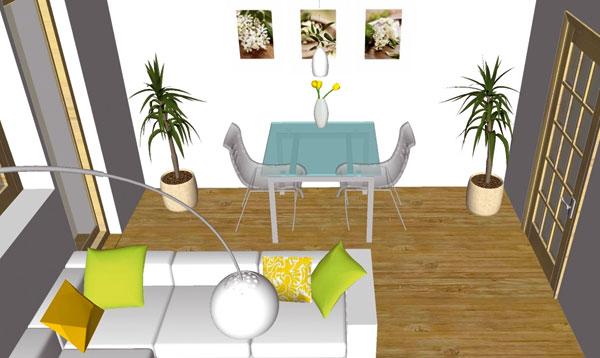 Obývacia izba na dva spôsoby