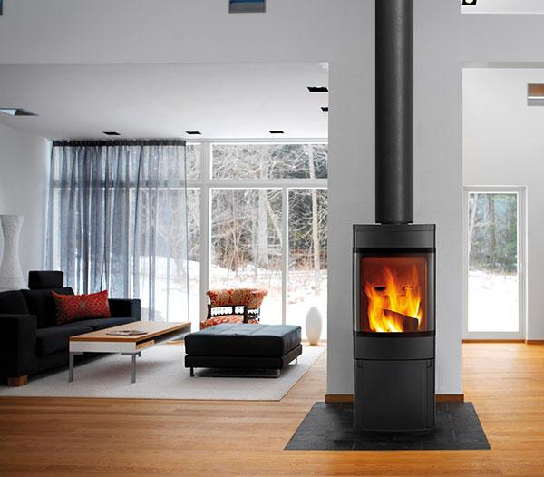 Aj v modernom, tesnom, dome si môžete užiť teplo …