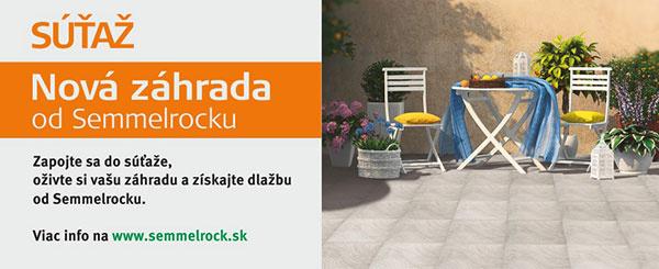 Súťaž – Nová záhrada od Semmelrocku
