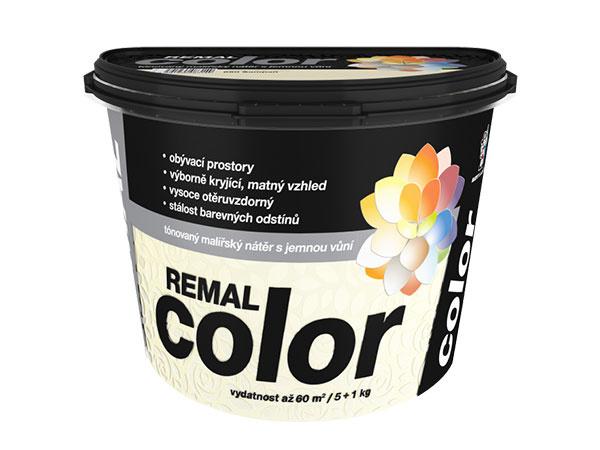 Remal Color. Tónovaný maliarsky náter s jemnou vôňou