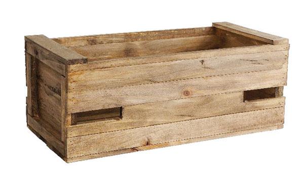 DREVENÝ BOX od značky Hübsch, drevo, 50,5 × 20,5 × 26 cm, 35,32 €, www.bellarose.sk